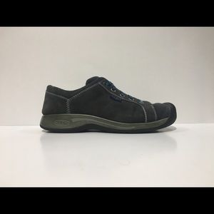 KEEN REISEN BLACK OXFORD QUICK LACE CASUAL SHOE